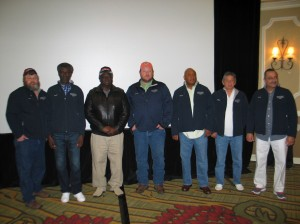 1 Million and 500,000 Miles Safe Driving Awardees from Charlotte, Charleston and Savannah Terminals